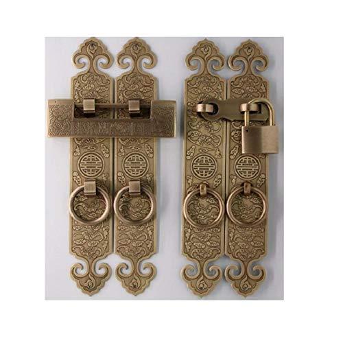 slot, deur- en raamslot, hangslot van zuiver koper