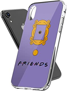 Case Phone Anti-Scratch Television Show Cases Cover Monica Door Friends Tv Shows Series (6.5-inch Diagonal Compatible with iPhone Xs Max)