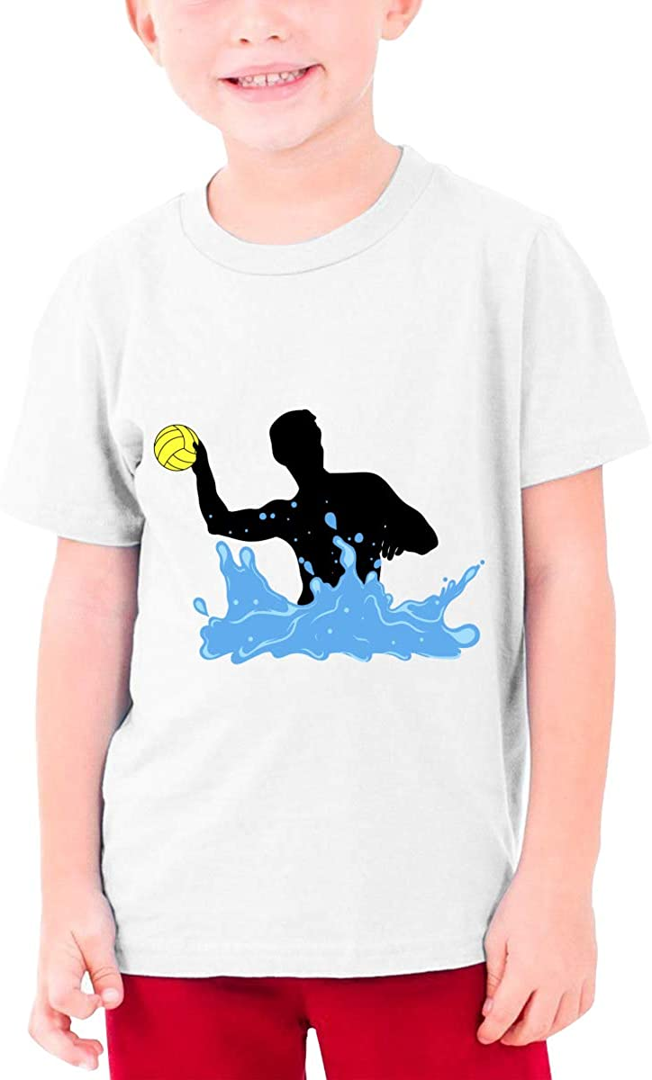 Play Water Polo Youth T-Shirt Short Sleeve Top Boys&Girls Tee
