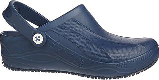 Oxypas Smooth, Unisex Adults' Safety Shoes, White (Nav), 10.5 UK (45 EU)