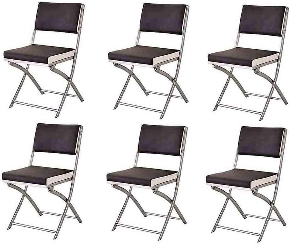 YCSD Folding Chairs Classic Simplicity Dining Manufacturer regenerated product New color Sturdy Steel Chair
