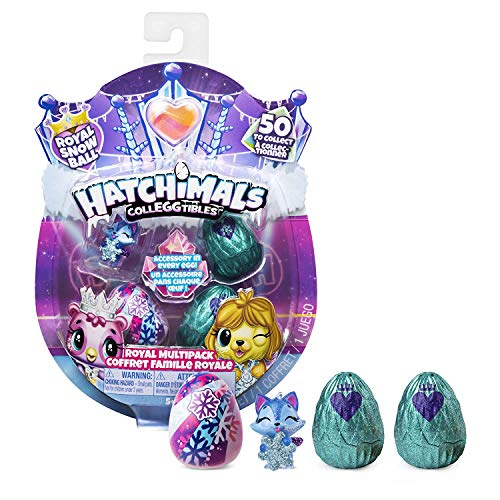 stagione 6 Royal 2-PACK CON TRONO E 2 ACCESS Hatchimals 6047181 colleggtibles