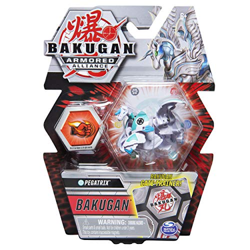 Bakugan Armored Alliance Core 2-inch Collectible Transforming Figure Pegatrix (Haos Faction)