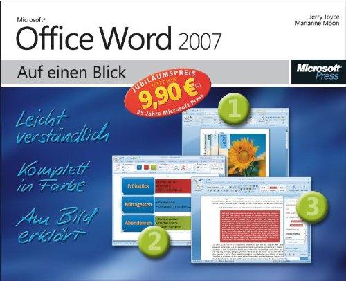 Microsoft Office Word 2007 auf einen Blick