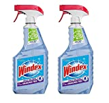 Windex Glass Cleaner, Crystal Rain, No Ammonia, 26 Ounces (Pack of 2)