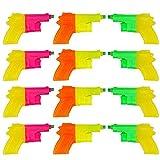 BRAMBLE! 12 Pack Mini Pistolas de Agua Plástico para Niños - Colores Surtidos - Ideales para...