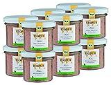 BIOPUR Bio Huhn, Reis & Karotten für Hunde-Welpen 12x100g