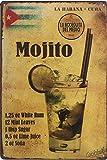 UNIQUELOVER Bar-Schild Bier, Getränke La Habana Cuba