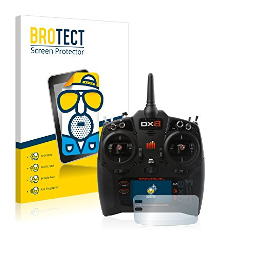 BROTECT 2X Entspiegelungs-Schutzfolie kompatibel mit Spektrum DX8 G2 Bildschirmschutz-Folie Matt, Anti-Reflex, Anti-Fingerprint