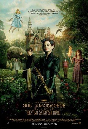 Miss Peregrine's Home for Peculiar Children - Tim Burton – Georgian Movie Wall Poster Print - 43cm x 61cm / 17 Inches x 24 Inches A2