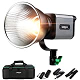 Weeylite Bi-Color Continuous Output Lighting with App Control LED Video Light 15400lux/1m CRI 95+ TLCI 95+ 2800K~8500K LED Continuous Video Light with Slient Fan for Studio Video (Ninja 200)