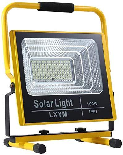 100W Recargable LED luz de Trabajo iluminación portátil 6000 lúmenes 15000 MAH IP65 Impermeable Luz al Aire Libre Lámpara de Rescate de Emergencia Foco para Acampar al Aire Libre Emergencia Repar