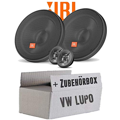 Lautsprecher Boxen JBL 16cm System Auto Einbausatz - Einbauset für VW Lupo Front - JUST SOUND best choice for caraudio