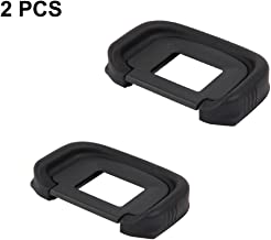 LXH (2 Pack) Replaces Canon EG Eyepiece/Eyecup/Viewfinder For Canon EOS-1D X/EOS-1Ds Mark III/1D Mark IV/1D Mark III/5D Mark III/5D3/5D Mark IV/5DSR/5DS/7D Mark II/7D2/7D