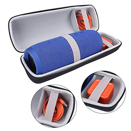 Reistas/draagbare beschermhoes/opbergdoos voor JBL Charge 3, draagbare bluetooth-luidsprekersysteem box