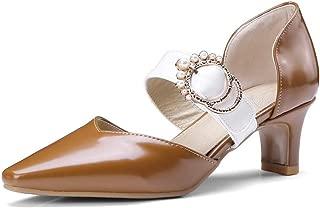 BalaMasa Womens ASL06709 Pu Heels