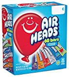 Airheads Candy Bars, Variety Bulk Box, Chewy Full Size Fruit Taffy, Gifts, Easter Candy Basket, Non Melting, Party, 60 Count (Packaging May Vary) by Perfetti Van Melle