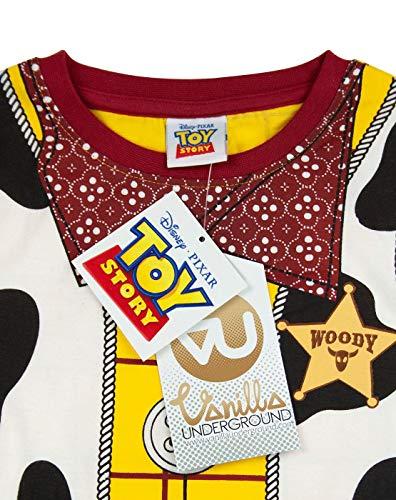 Breve Pigiama Bambini Disney Pixar Toy Story Woody Costume del Ragazzo