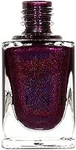 ILNP Black Orchid - Deep Burgundy/Plum Vampy Holographic Nail Polish, Chip Resistant, Non-Toxic, Vegan, Cruelty Free, 12ml