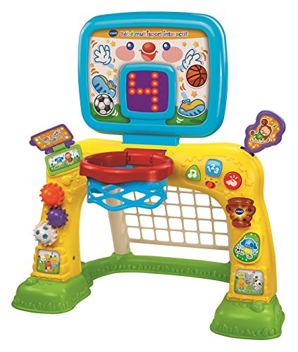 VTech - Bébé multisport interactif, jeu éducatif bébé, centr
