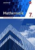 Mathematik - Ausgabe 2016 für Realschulen in Bayern: Arbeitsheft 7 WPF I mit Lösungen