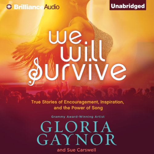 We Will Survive audiobook cover art