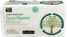 365 Everyday Value 100% Recycled Lunch Napkins, 200 ct