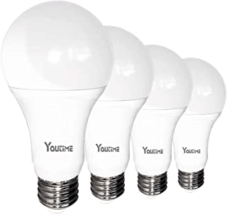 Super Bright!!! A21 LED Bulb, 20W (150-200W Equivalent) 2200LM Non-dimmable and 5000K Daylight, E26 Medium Screw Base Light Bulb for Bathroom & Kichen, 4 Packs by Youtime