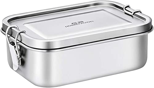 wholesale Bento Lunch Box, G.a HOMEFAVOR Stainless Steel Lunch Containers Leakproof, Metal Lunch outlet online sale Containers for Kids Adults, 800ML, Dishwasher Safe, BPA new arrival Free sale