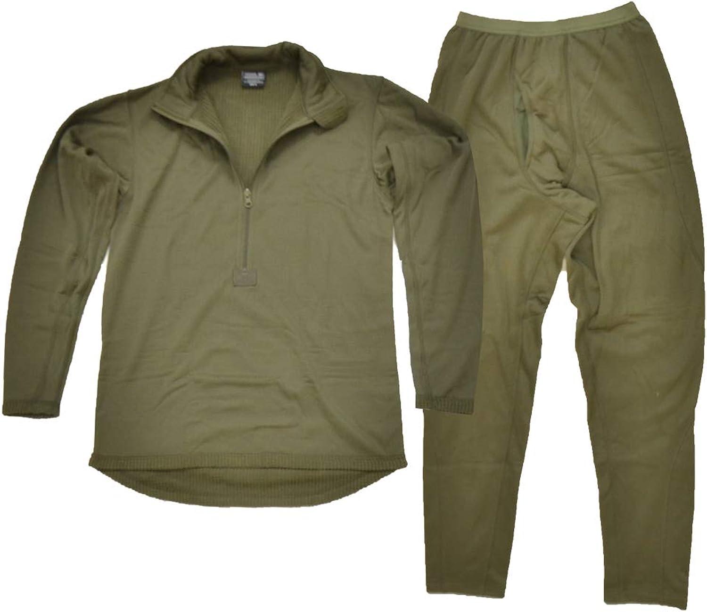 Mil-Tec BW Lange Thermo Unterwäsche Gen III Thermofleece Unterhemd und Unterhose Winter Thermounterwäsche Oliv S-3XL B06XVZB2B7  Saisonale Förderung