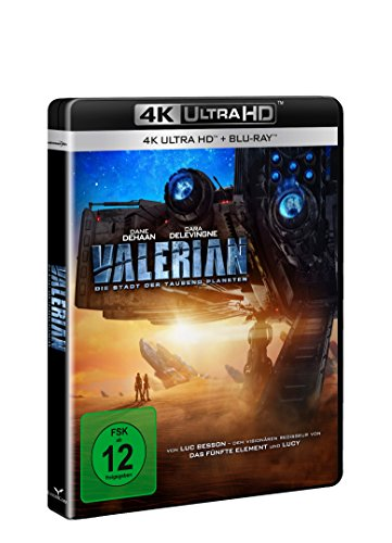 Valerian - Die Stadt der tausend Planeten [4K Ultra HD] [Blu-ray]