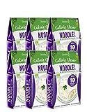 Shirataki Slendier pâtes de konjac biologique - paque de Nouillie-Style ( 6 x 250 g)
