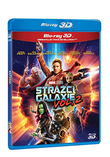 Strazci Galaxie Vol. 2 2BD (3D+2D) / Guardians of the Galaxy Vol. 2 (Tschechische Version)