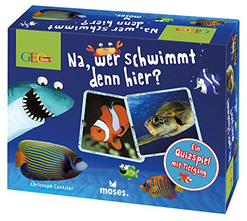GEOlino Na, wer schwimmt denn hier?: Wer hat die beste Spürnase und kennt sich mit Meerestieren aus?
