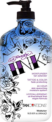 Ed Hardy INK Tattoo & Color Fade Moisturizer Tan Extender 18.75 Ounce
