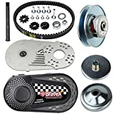 Torque Converter Go Kart Clutch 3/4 inch 10T 40/41 & 12T 35 Chain Drive Belt Pulley Replace for Manco Comet TAV2 Mini Bike, 30 Series