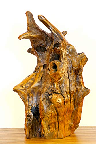 *Kinaree 55-70cm Teak Wurzelholz Skulptur, Deko Aufsteller*