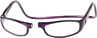 Clic Magnetic Euro Reading Glasses in Purple +2.50