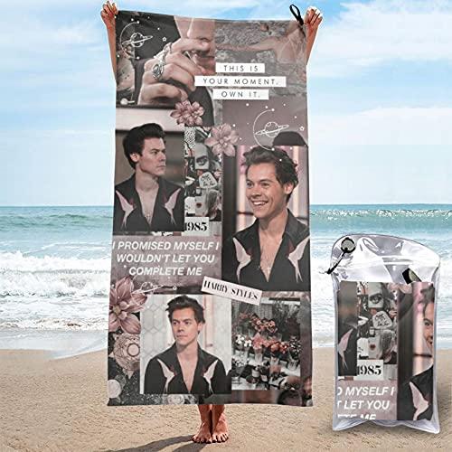 Harry estilos para adolescentes niñas mayores éxitos kiwi línea fina fans regalo uk toalla de playa Sábanas de baño temporada 2021 arena playa accesorios