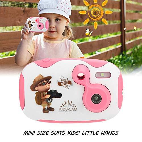 Acogedor Draagbare digitale camera met 1,44 inch HD LCD-scherm 1.9-inch CMOS-sensor en ingebouwde microfoon, anti-druppel, 4P-lens, ondersteunt veel spraak