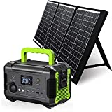 PAXCESS Portable Power Station 200W with Solar Panel Included, 230Wh Solar Generator with 60W Foldable Solar Panel, CPAP Backup Lithium Battery for Outdoor Camping RV Emergency Home Use