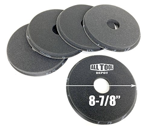 Best In USA PORTER-CABLE 7800 Drywall Sander 80 Grit Drywall Sanding Disc (5-Pack)