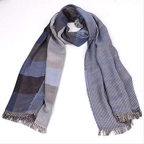 heren/dames/geruit/sjaal/herfst/winter/dubbelzijdig/kwast/zacht/warm/rok/accessoires.