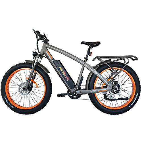 Addmotor MOTAN Electric Bicycles Mountain Fat Tires 26 Inch 750W Power Electric Bikes Removable 48V 11.6AH Lithium Battery M-560 P7 Ebikes for Adults (Orange)