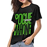 Camisa de Manga Corta para Mujer The Pogues Pogue Mahone Woman'S Latest Raglan Short Sleeve Cotton tee