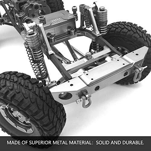Dilwe RC Auto Stoßdämpfer, 2 Stücke Metall Stoßdämpfer Dämpfer für SCX10 Axial D90 TRX-4 1/10 Skala RC Crawler Auto Zubehör