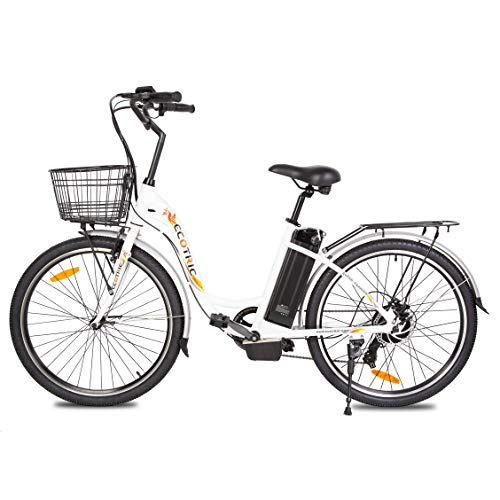 ECOTRIC Electric City 26 ″ eBike dengan Motor 350W 36V / 10AH