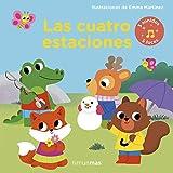 Las cuatro estaciones. Libro con luces y sonidos: Ilustraciones de Emma Martínez (Libros con sonido)
