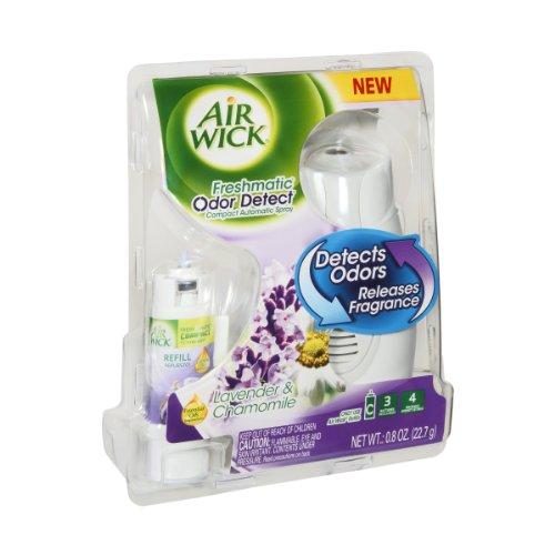 Air Wick Freshmatic Odor Detect Lavender & Chamomile Compact Automatic Spray
