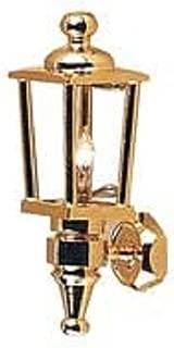 Dollhouse Miniature Brass Carriage Lamp